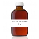Lexapro Oral Solution (5mg/5ml) - 240ml Bottle