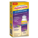 Aspercreme Maximum Strength Lidocaine No-Mess with Lavender Essential Oil 2.5 Fl Oz
