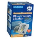 Life Source Advanced Blood Pressure Monitor Manual Inflate UA-705V Med Cuff