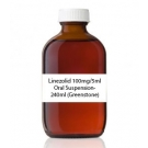Linezolid 100mg/5ml Oral Suspension- 240ml (Greenstone)