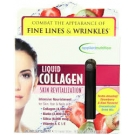 Applied Nutrition Liquid Collagen Skin Revitalization Concentrated Drink Mix Strawberry & Kiwi - 10ct