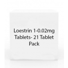 Loestrin 1-0.02mg Tablets- 21 Tablet Pack