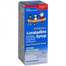 Children's Loratadine 5mg Syrup- 4oz