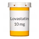 Lovastatin 10mg Tablets