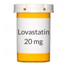 Lovastatin 20mg Tablets