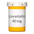 Lovastatin 40mg Tablets