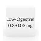 Low-Ogestrel 0.3-0.03mg Tablets - 28 Tablet Pack