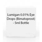 Lumigan 0.01% Eye Drops (Bimatoprost) - 5ml Bottle