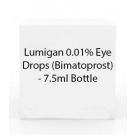 Lumigan 0.01% Eye Drops (Bimatoprost) - 7.5ml Bottle