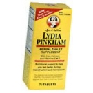 Lydia Pinkham Herbal Tablets  72 ct