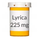 Lyrica 225mg Capsules