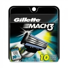 Gillette® MACH3 Razor Cartridges- 10ct