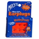 Macks Pillow Soft Earplugs Kids Size Orange  6 Pairs (NRR 22)