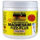 Nature's Blend Magnesium Fizz+Powder Lemon/Lime - 6.4 oz (30 servings)