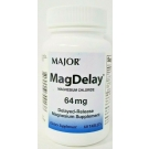 Major Mag-Delay Magnesium Chloride 64mg - 60 Delayed Release Tablets