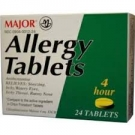 Major Allergy 4mg Tablets- 24ct