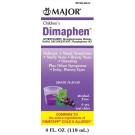 Major Children's Dimaphen Elixir, Grape, 4oz