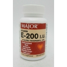 Major Vitamin E 200 IU DL-Alpha Softgels 100ct