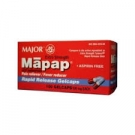 Mapap Rapid Release Gelcaps, 500mg, 100ct