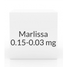 Marlissa 0.15-0.03mg Tablets- 28 Tablet Pack