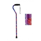NOVA Medical Products Designer Cane with Offset Handle, Maui Flowers
