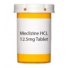 Meclizine HCL 12.5mg Tablet