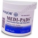 Medi-Pads Hemorrhoidal Pads - 100 Pads