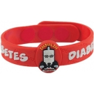 MediMates Diabetes Health Alert Wristband -