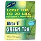 Mega-T Green Tea Caplets - 30 Count Box