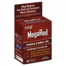 Schiff MegaRed Omega 3 Krill Oil 300 mg Dietary Supplements Softgels- 60ct
