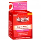 Schiff Megared Super Heart Omega 3 Krill Oil plus CoQ10 & Vitamin D- 40ct