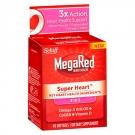 Schiff Megared Super Heart Omega 3 Krill Oil plus CoQ10 & Vitamin D- 40ct
