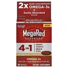 MegaRed Advanced 4-in-1 Omega-3s Softgels - 40ct