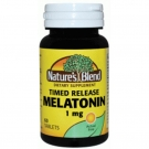 Melatonin 1mg Timed Release, 60ct Tablets