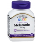 21st Century Quick Dissolve Melatonin 10mg Tablets Cherry - 120ct