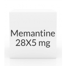 Memantine 49 Tablet Titration Pack - (28X5mg - 21X10mg)