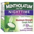 Mentholatum Nighttime Vaporizing Rub Maximum Strength Cough Relief - 1.76 oz