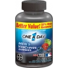 One A Day VitaCraves Men's Multivitamin Gummies- 150ct