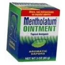 Mentholatum Ointment Regular Jar 3 oz