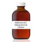 Metformin HCL 500mg/5ml Oral Solution (Strawberry)- 473ml