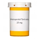 Metoprolol Tartrate 25mg Tablets