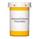 Metoprolol Tartrate 75mg Tablets