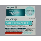 Miconazole Nitrate 2% 3 Day Vaginal Cream (Major) - 0.32 oz