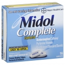 Midol Complete Maximum Strength Multi-Symptom Caplets - 16ct