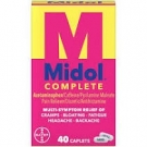 Midol Complete Maximum Strength Multi-Symptom Caplets - 40ct