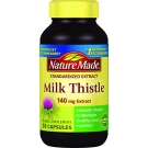 Nature Made Milk Thistle Extract 140 mg Capsules - 50ct
