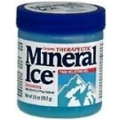 Mineral Ice Gel  - 3.5oz Jar