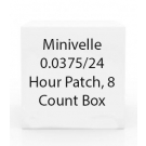 Minivelle 0.0375/24 Hour Patch, 8 Count Box
