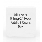 Minivelle 0.1mg/24 Hour Patch, 8 Count Box
