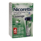 Nicorette Lozenge 4mg, Mint- 24ct